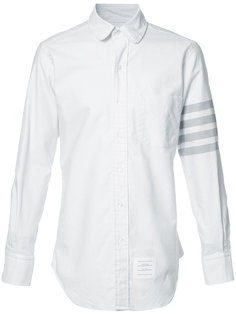 рубашка с рукавом в полоску Thom Browne