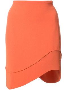 юбка с волнистым подолом Mugler