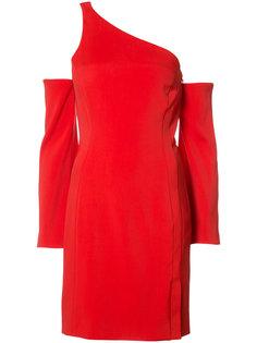 платье на одно плечо Mugler