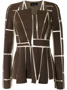 panelled blouse Gloria Coelho