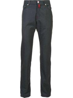 зауженные брюки Kiton