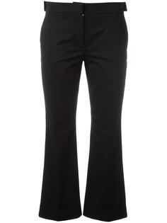 расклешенные укороченные брюки Nº21