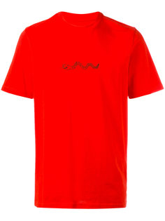 футболка с принтом змеи Oamc