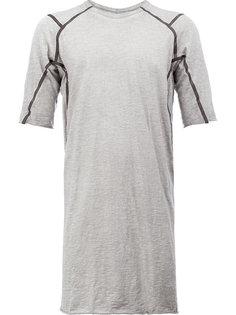 футболка с контрастной окантовкой  Isaac Sellam Experience