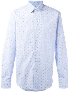 рубашка в горох Salvatore Ferragamo