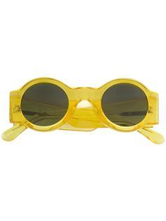 солнцезащитные очки x Dries Van Noten в круглой оправе Linda Farrow