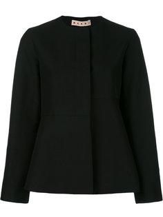 расклешенная куртка без воротника Marni