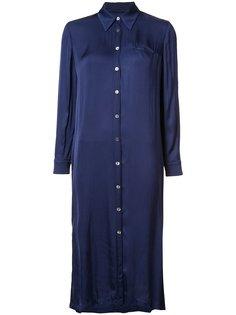 платье-рубашка средней длины Raquel Allegra
