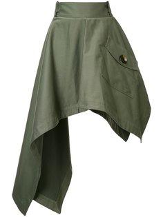 асимметричная юбка Monse