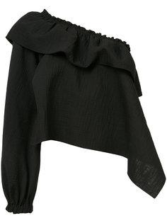 блузка на одно плечо Rachel Comey