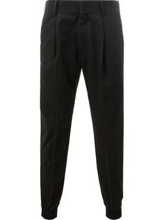 двухцветные брюки Juun.J