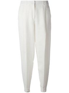 брюки с завышенной талией Jil Sander Navy
