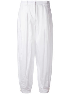 зауженные брюки Jil Sander Navy