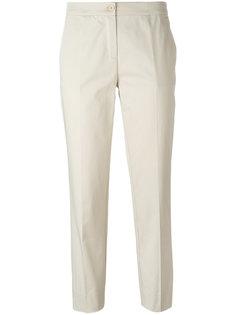 прямые укороченные брюки Etro