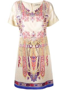 платье-футболка с абстрактным узором Etro