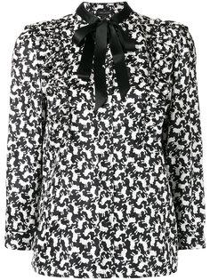 рубашка с узором Marc Jacobs