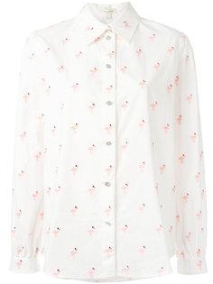 рубашка с принтом фламинго Marc Jacobs