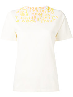 футболка с принтом Mm6 Maison Margiela