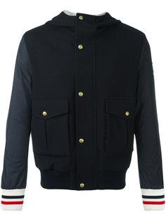куртка-бомбер с капюшоном Moncler Gamme Bleu