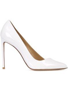 туфли-лодочки с диагональным срезом Francesco Russo