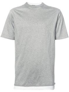 двухслойная футболка T By Alexander Wang