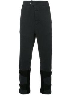 спортивные брюки с ремешками Ann Demeulemeester