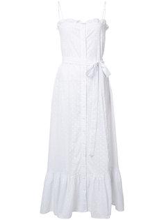 платье на пуговицах с узором Lisa Marie Fernandez