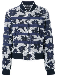куртка-бомбер с цветочным принтом Goen.J