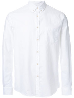 рубашка с воротником-на пуговицах Sunspel