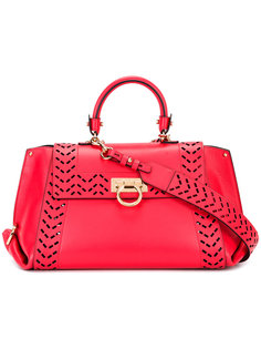 сумка-тоут Sofia с клатчем внутри Salvatore Ferragamo