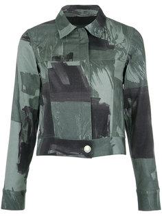 camouflage print denim jacket Uma | Raquel Davidowicz