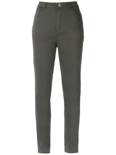 skinny twill trousers Uma | Raquel Davidowicz
