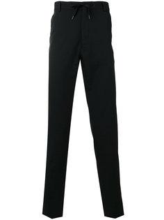 строгие брюки с завязками на поясе Kenzo