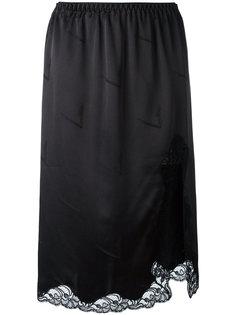 юбка с кружевной отделкой Alexander Wang