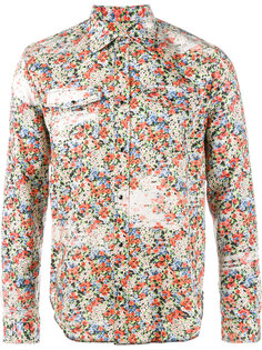 рубашка с цветочным принтом Maison Margiela