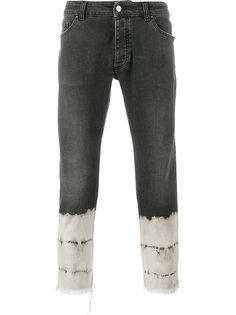 укороченные джинсы Palm Angels