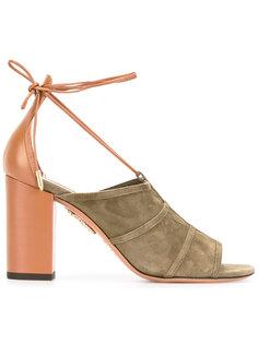 босоножки на шнуровке Aquazzura
