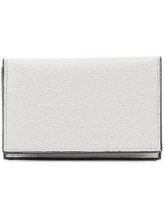 классический кошелек-конверт Valextra
