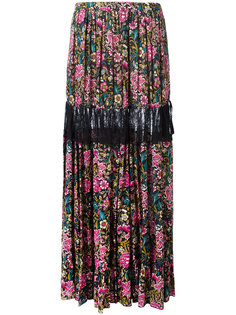длинная юбка с цветочным принтом Nº21