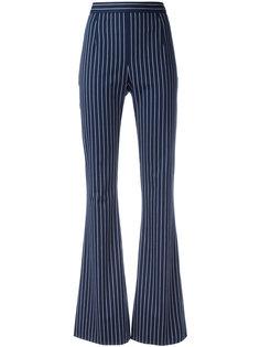 полосатые брюки с завышенной талией Pierre Balmain