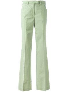 расклешенные брюки с высокой талией Etro