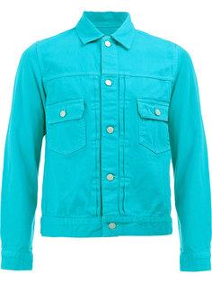 джинсовая куртка с накладными карманами Ganryu Comme Des Garcons