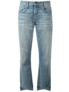 джинсы прямого кроя Current/Elliott
