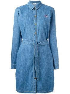 джинсовое платье-рубашка Mini Tiger Kenzo