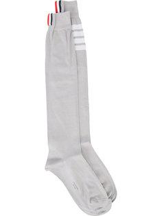 носки в полоску Thom Browne