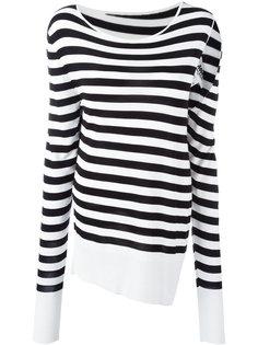 пуловер в полоску Mm6 Maison Margiela