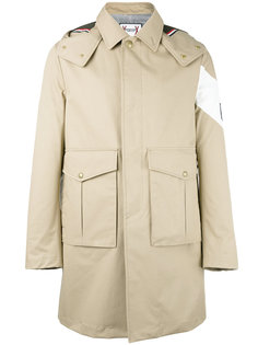 однобортное пальто  Moncler Gamme Bleu