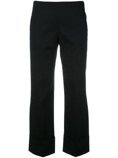 широкие укороченные брюки Fay