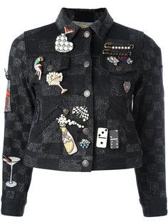 куртка со значками Marc Jacobs