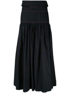 юбка макси со складками Ellery
